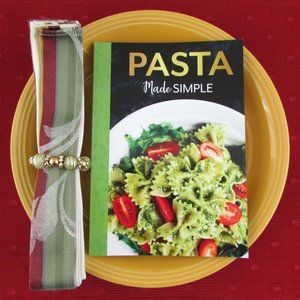 Pasta Made Simple Recipe Cookbook